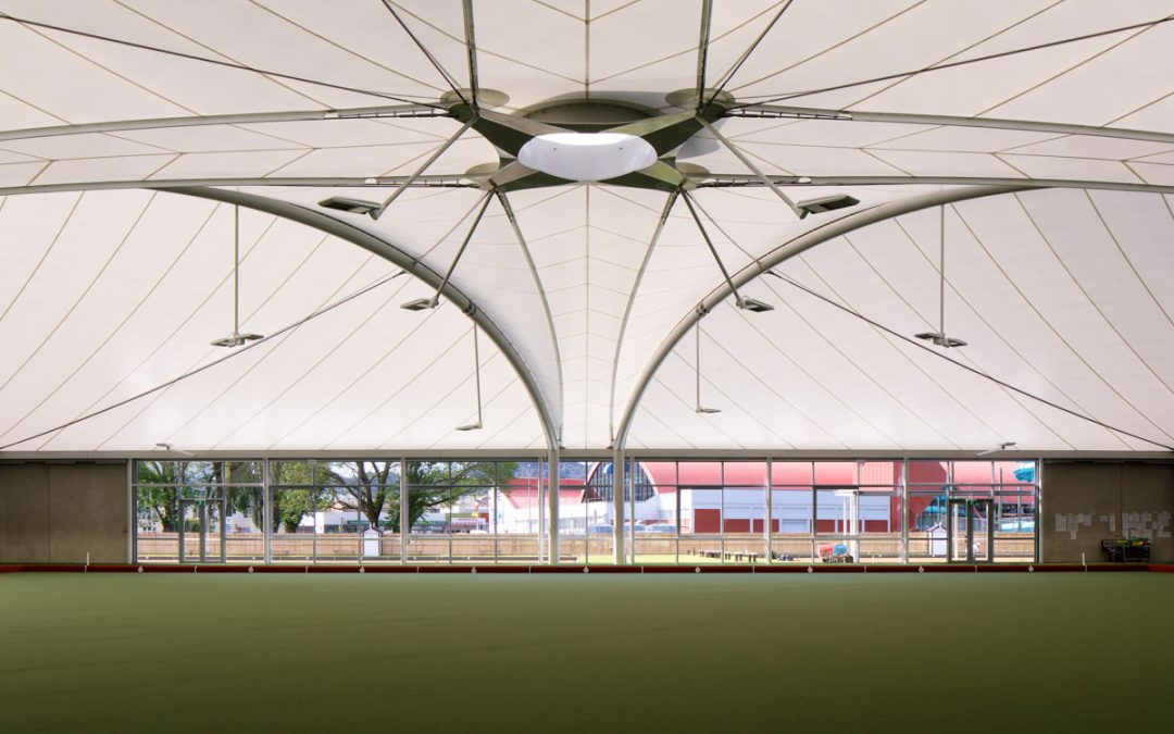 Naenae: another superb example of using a membrane roof